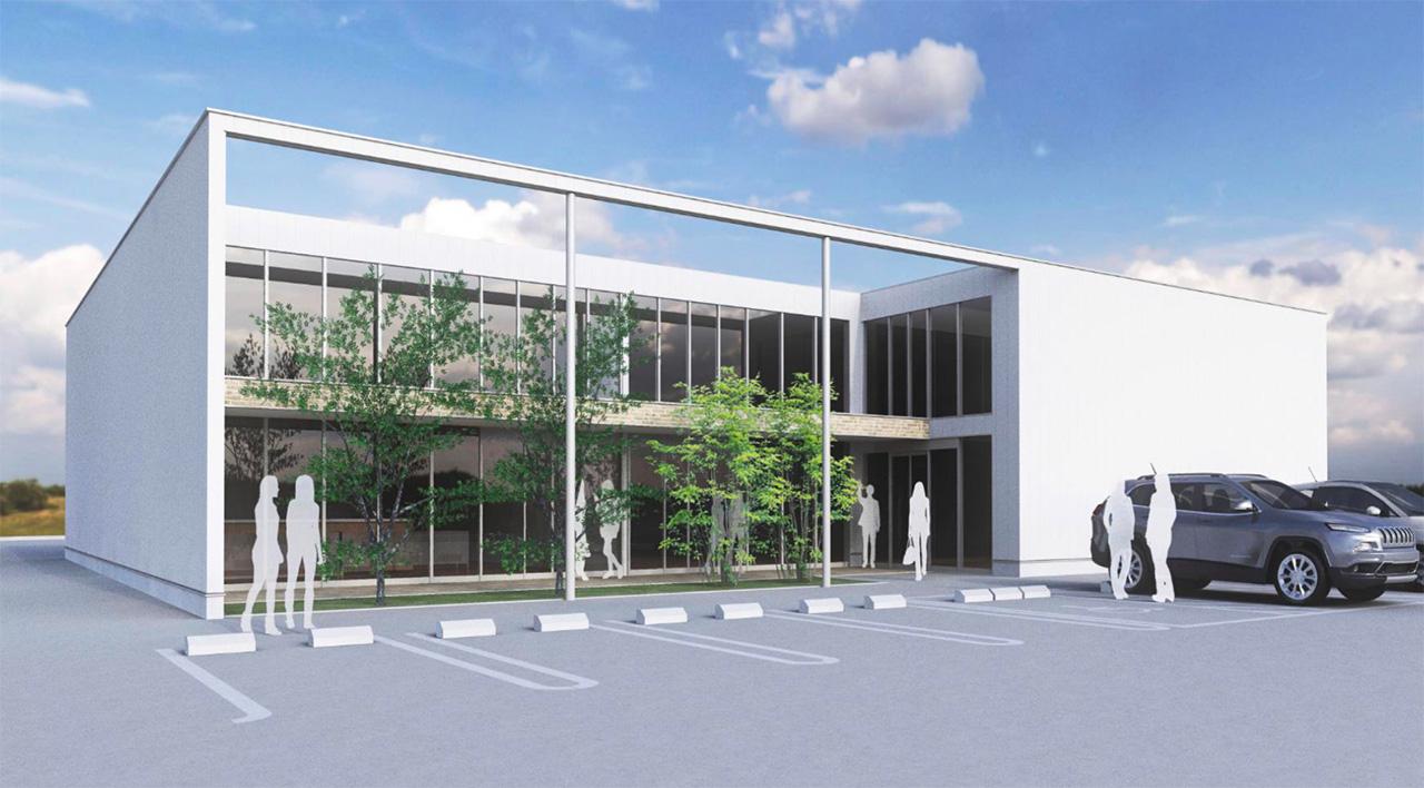 千葉印西医療モールの外観イメージ