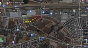 千葉印西医療モールの航空写真