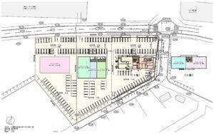 千葉印西医療モールの地図