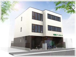 東船橋駅徒歩2分の医療モール外観イメージ