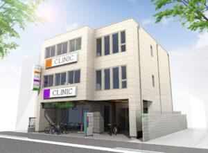 東船橋の新築医療モール:外観パース2
