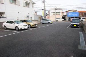 東武アーバンパークライン川間駅近くの物件の駐車場