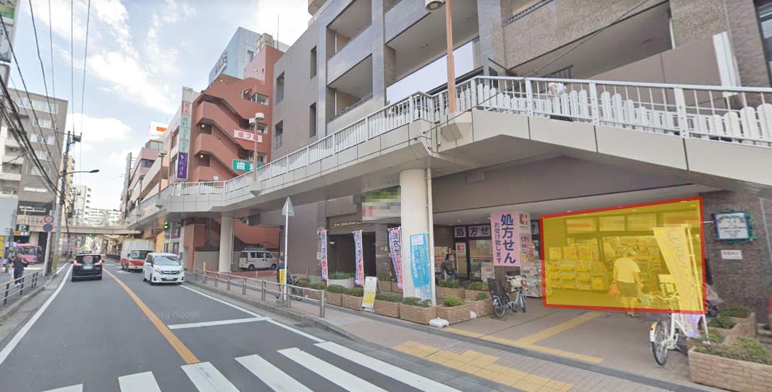 松戸駅東口の物件外観