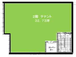 東船橋の新築医療モール:間取り(2階)